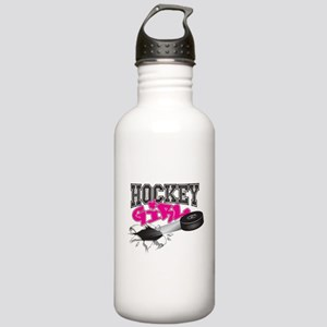 Hockey Girl Steel Stainless Water Bottle 1.0l