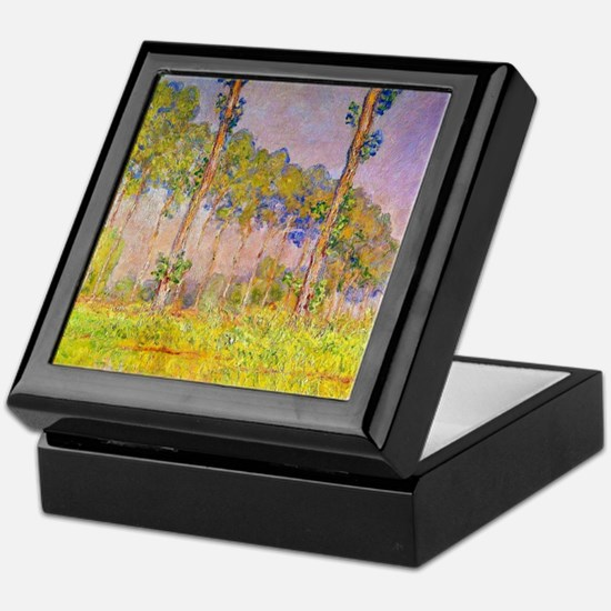 Cute Claude monet art Keepsake Box