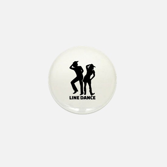 Line dance Mini Button