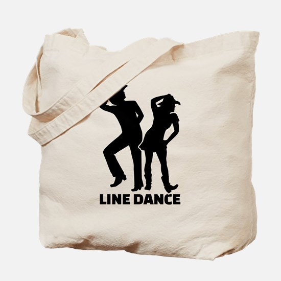 Line dance Tote Bag