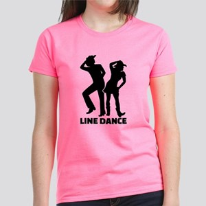 Line dance Women's Dark T-Shirt