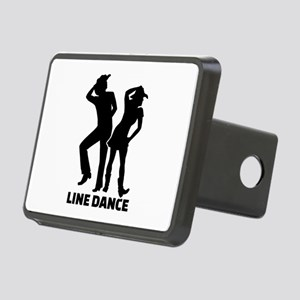Line dance Rectangular Hitch Cover
