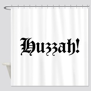 Huzzah! Shower Curtain