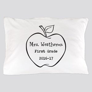 Personalized Teachers Apple Pillow Case