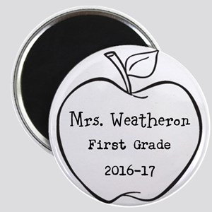 Personalized Teachers Apple Magnets
