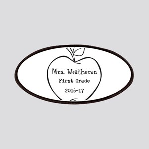 Personalized Teachers Apple Patch