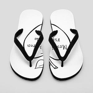 Personalized Teachers Apple Flip Flops