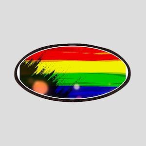 Gay rainbow art Patch