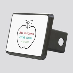 Colorized Custom Teachers Apple Hitch Cover