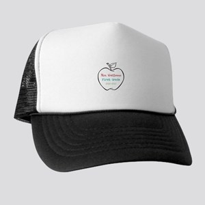 Colorized Custom Teachers Apple Trucker Hat