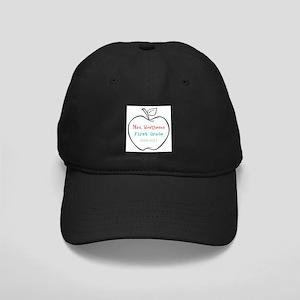 Colorized Custom Teachers Apple Baseball Hat