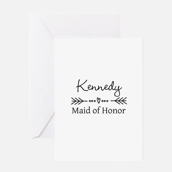 Bridal Party Personalized Greeting Cards