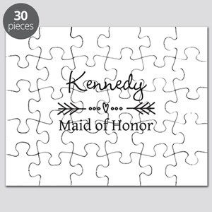 Bridal Party Personalized Puzzle