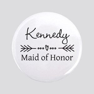 Bridal Party Personalized Button