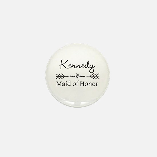 Bridal Party Personalized Mini Button (10 pack)