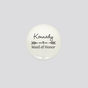 Bridal Party Personalized Mini Button