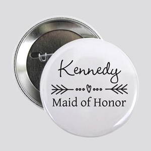 """Bridal Party Personalized 2.25"""" Button"""