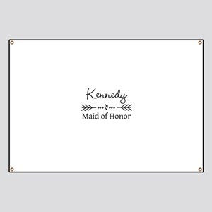 Bridal Party Personalized Banner