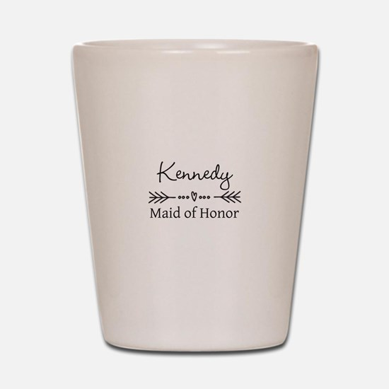 Bridal Party Personalized Shot Glass
