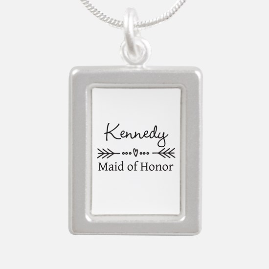 Bridal Party Personalized Necklaces
