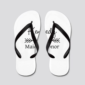 Bridal Party Personalized Flip Flops