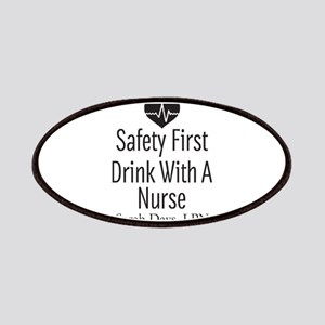 Drink with a Nurse Personalized Patch