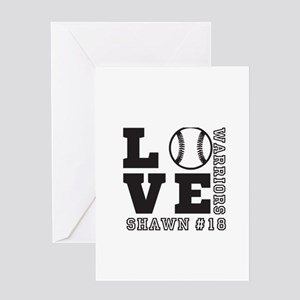 Baseball or Softball Personalized Team and Name Gr