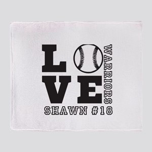 Baseball or Softball Personalized Team and Name Th