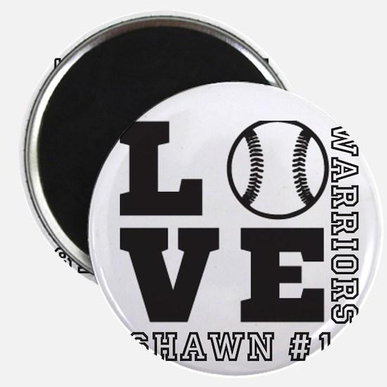 Baseball or Softball Personalized Team and Name Ma