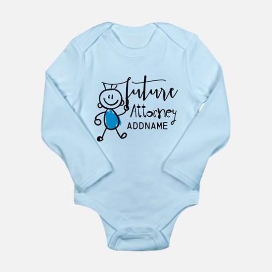 Future Attorney Person Long Sleeve Infant Bodysuit