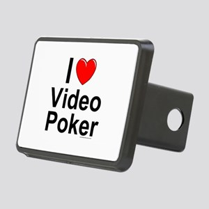 Video Poker Rectangular Hitch Cover