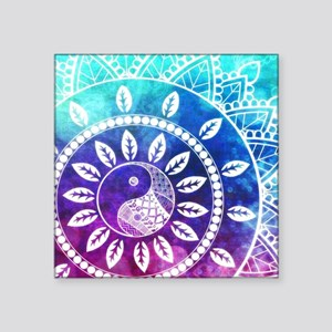 Divine Dream Pink Purple Blue Mandala Sticker