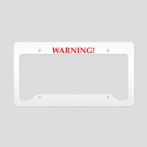 adult content License Plate Holder