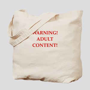 adult content Tote Bag