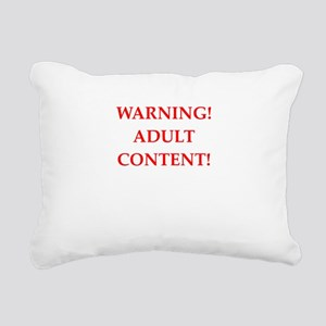 adult content Rectangular Canvas Pillow