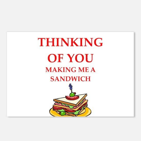 funny joke Postcards (Package of 8)