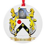 Trille Round Ornament