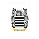 Triggs Sticker (Rectangle 50 pk)