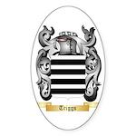 Triggs Sticker (Oval 50 pk)