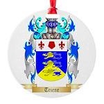 Triene Round Ornament