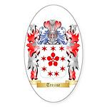 Trezise Sticker (Oval 10 pk)