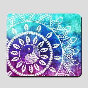 Divine Dream Pink Purple Blue Mandala Mousepad