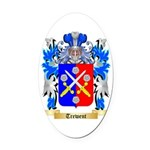 Trewent Oval Car Magnet
