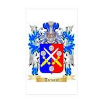 Trewent Sticker (Rectangle 50 pk)