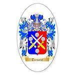 Trewent Sticker (Oval 50 pk)