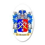 Trewent 35x21 Oval Wall Decal