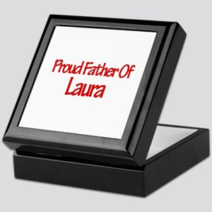 Proud Father of Laura Keepsake Box