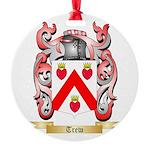 Trew Round Ornament