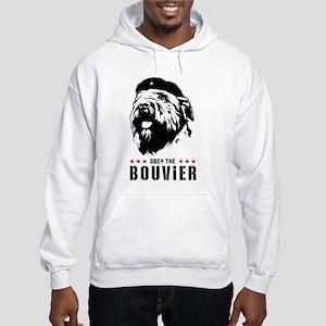 Obey the Bouvier! Hooded Sweatshirt