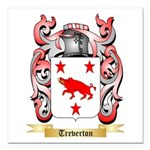 Treverton Square Car Magnet 3